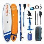 """AQUAPLANET 10ft 6"""" Stand up paddle board"""