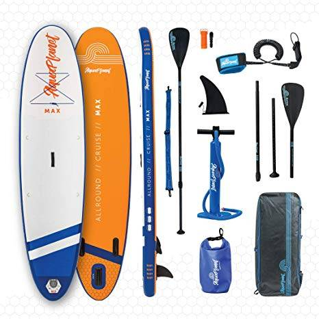 AQUAPLANET 10ft Stand up paddle board - image AQUAPLANET-10ft-Stand-up-paddle-board on https://supboardgear.com