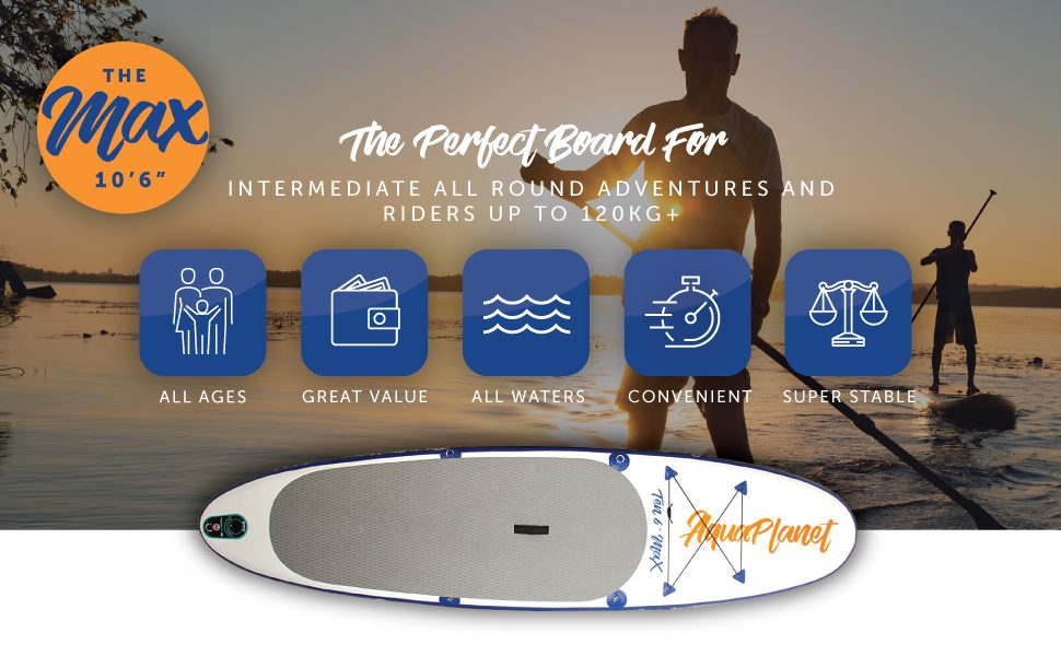 AQUAPLANET MAX Stand up paddle board