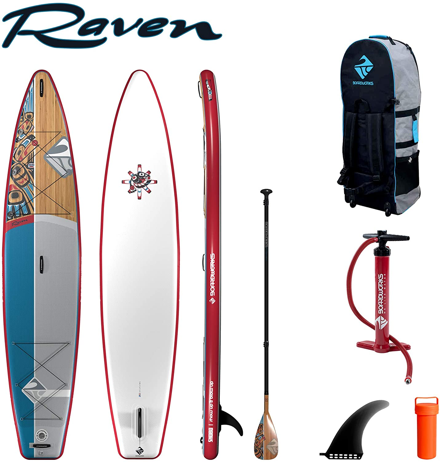 Boardworks Shubu Raven Inflatable Stand-Up Paddleboard