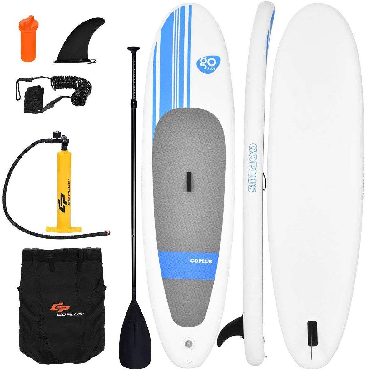 Goplus 10' Inflatable Stand Up Paddle Board - image Goplus-10'-Inflatable-Stand-Up-Paddle-Board on https://supboardgear.com