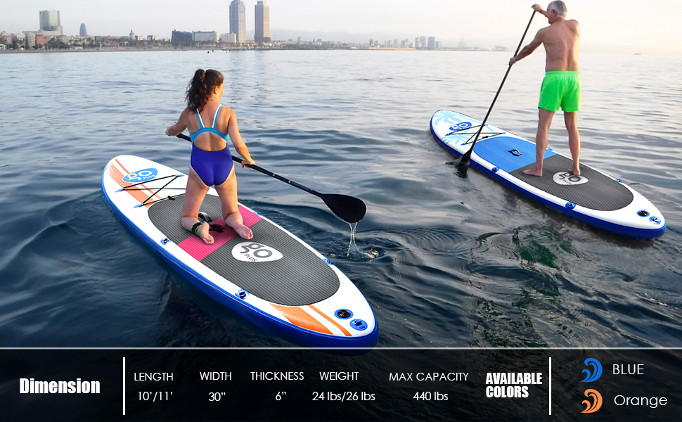 Perfect for every water sport SUP