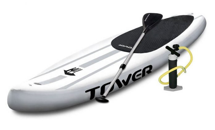 TOWER Xplorer Inflatable 14' Stand Up Paddle Board