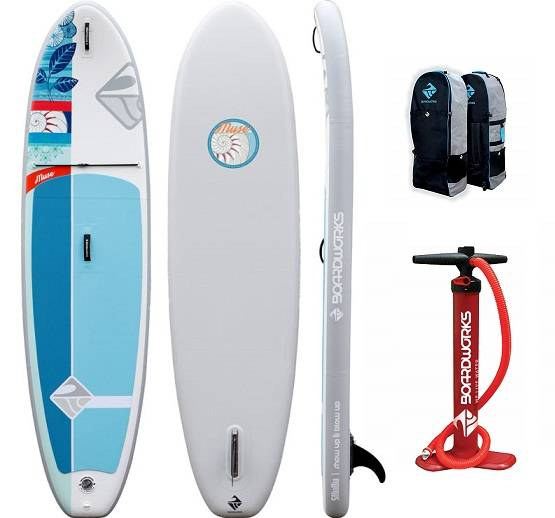Boardworks SHUBU 10'2 Muse Inflatable SUP review - image muse-sup-pack on https://supboardgear.com