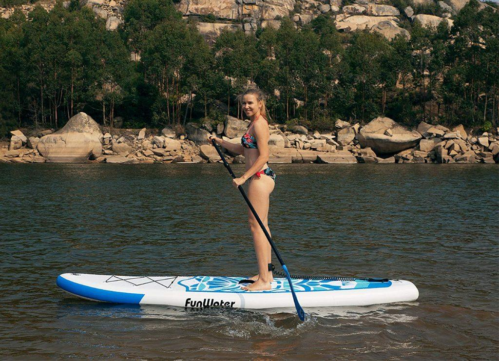 FunWater Inflatable ultra-light SUP 10'6×33×6 - image sup-in-action-1-1024x741 on https://supboardgear.com