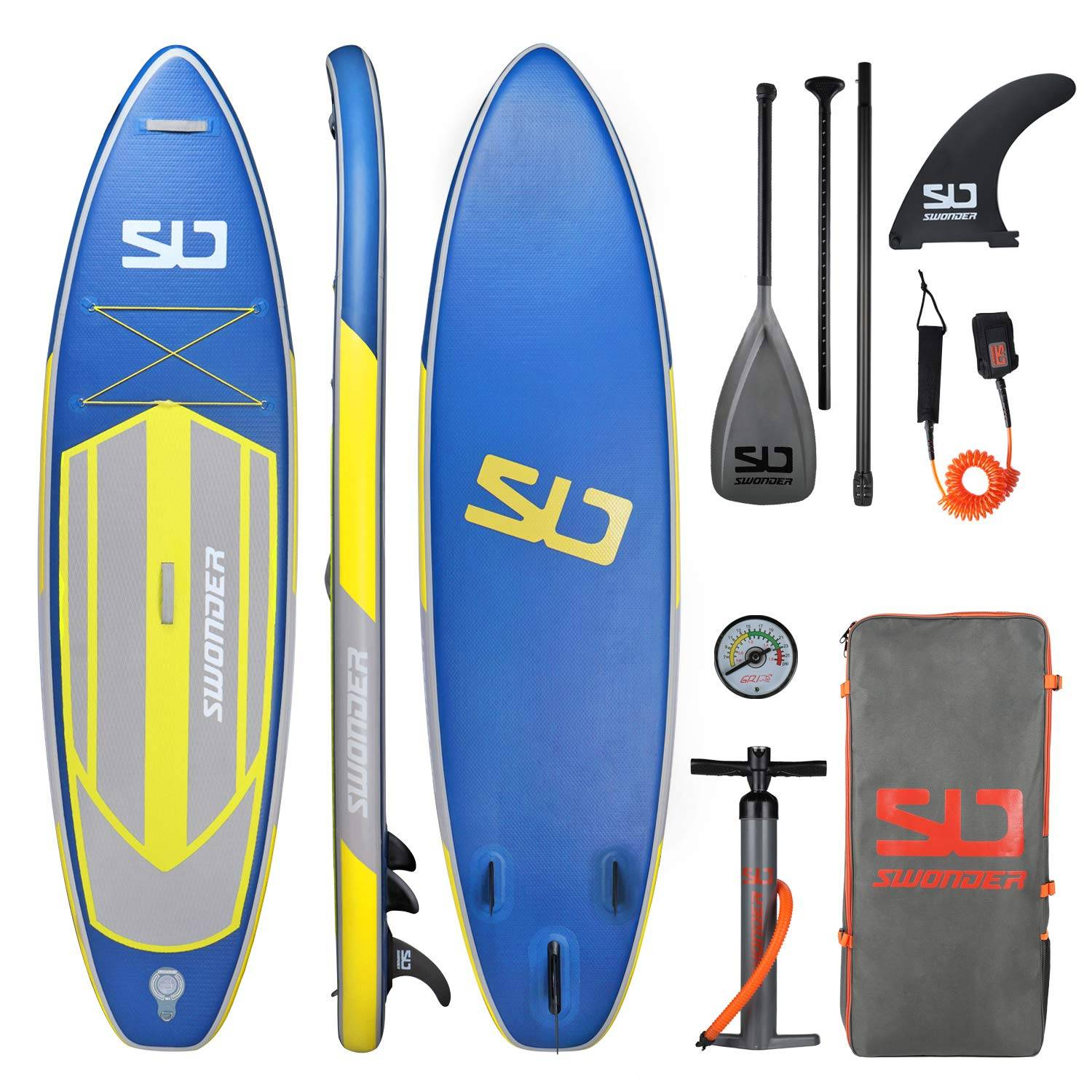 Swonder 11'6 Inflatable Stand Up Paddle Board