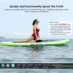 10' Inflatable Stand Up Paddle Board comes from Ancheer