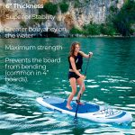 Inflatable paddle board Hydro Force Bestway