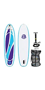 Fish Inflatable Stand Up Paddle Board SUP