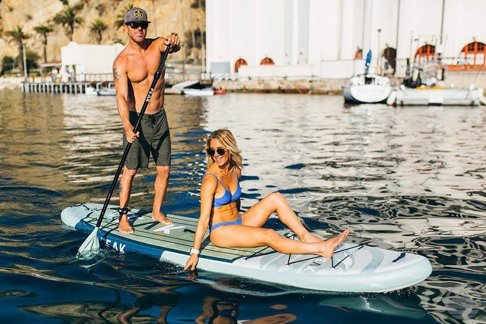 Peak Expedition Inflatable paddle board - image Peak-Expedition-Inflatable-paddle-board on https://supboardgear.com