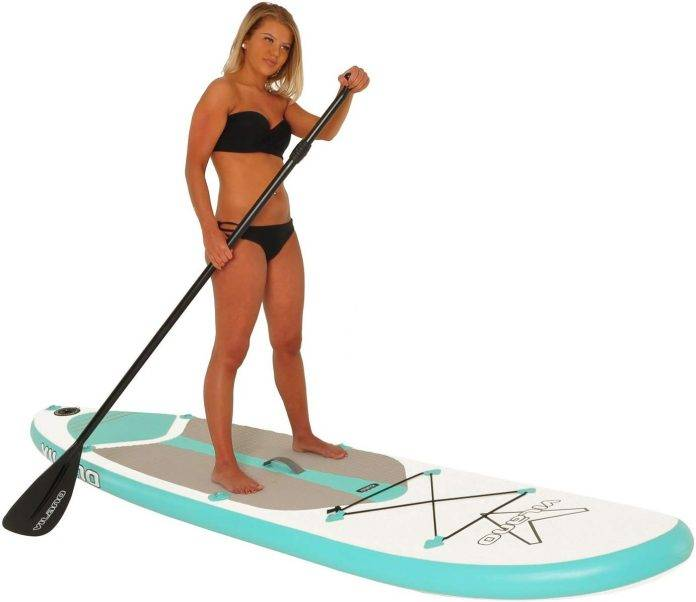 Vilano Journey Inflatable Stand Up Paddle Board Kit