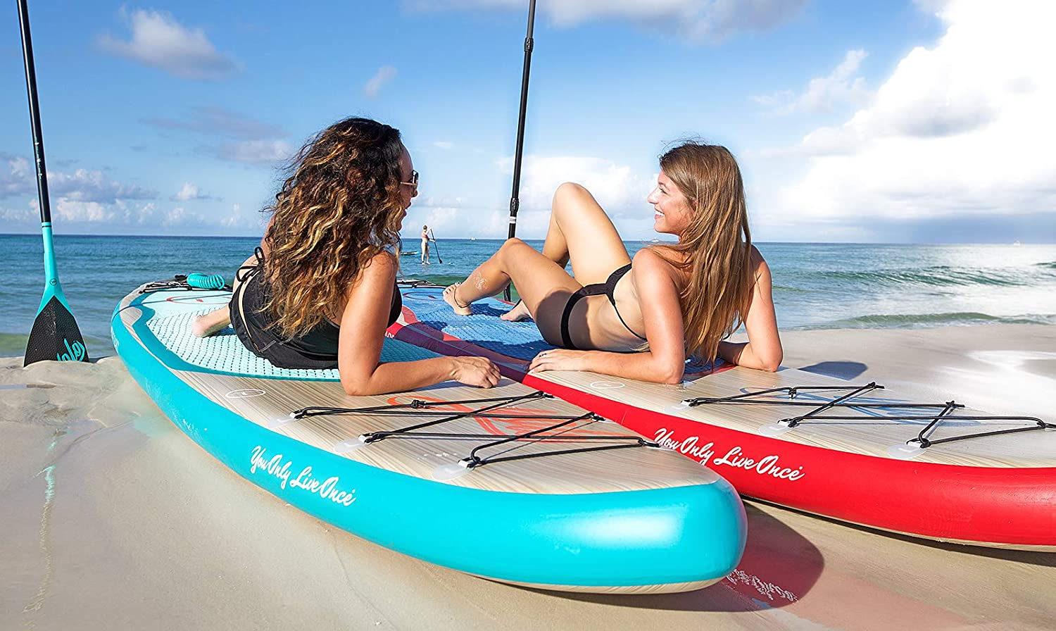 YOLO Board Inflatable Stand Up Board tOP