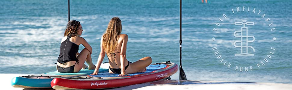 YOLO Board Stand Up Paddleboard Inflatable SUP
