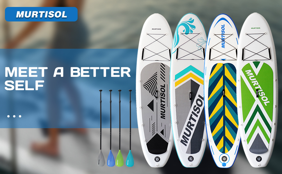 Murtisol Pro Inflatable Paddle Board Stand Up