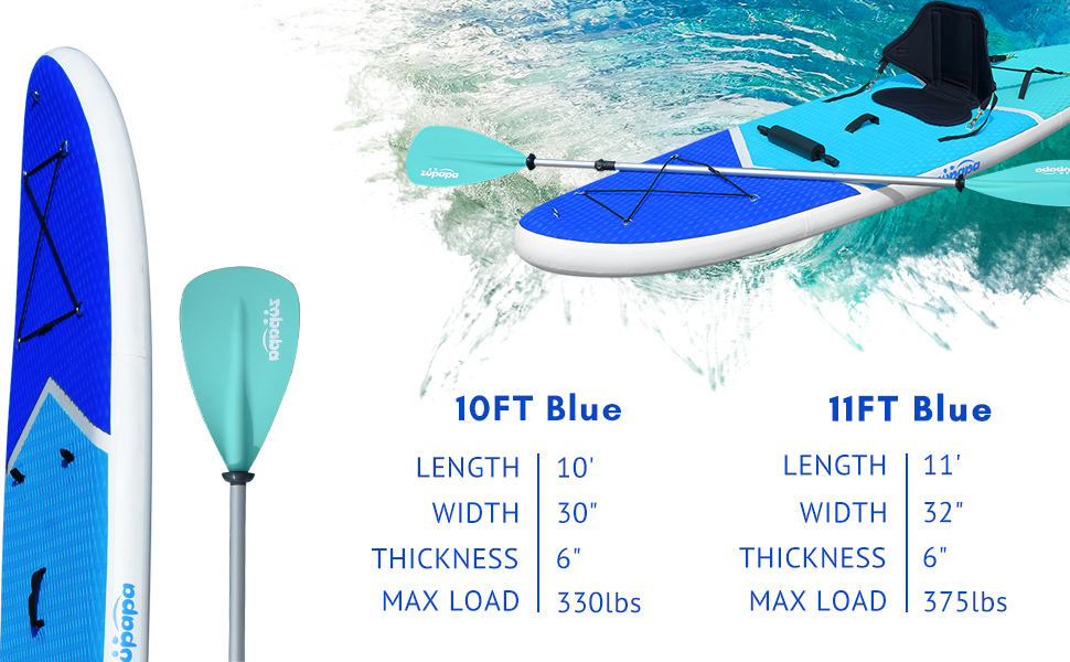 Zupapa Inflatable Paddle Board