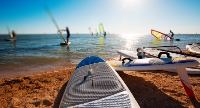 is windsurfing hard,windsurfing videos
