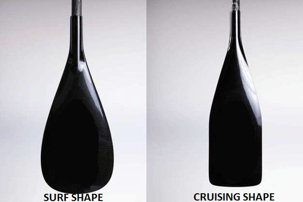 sup paddles - types