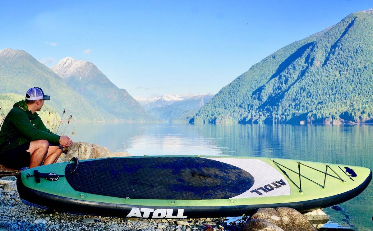 Atoll 11' Foot Inflatable Stand Up Paddle Board