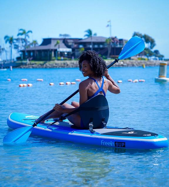 Freein Stand Up Paddle Board Inflatable SUP Long with Kayak