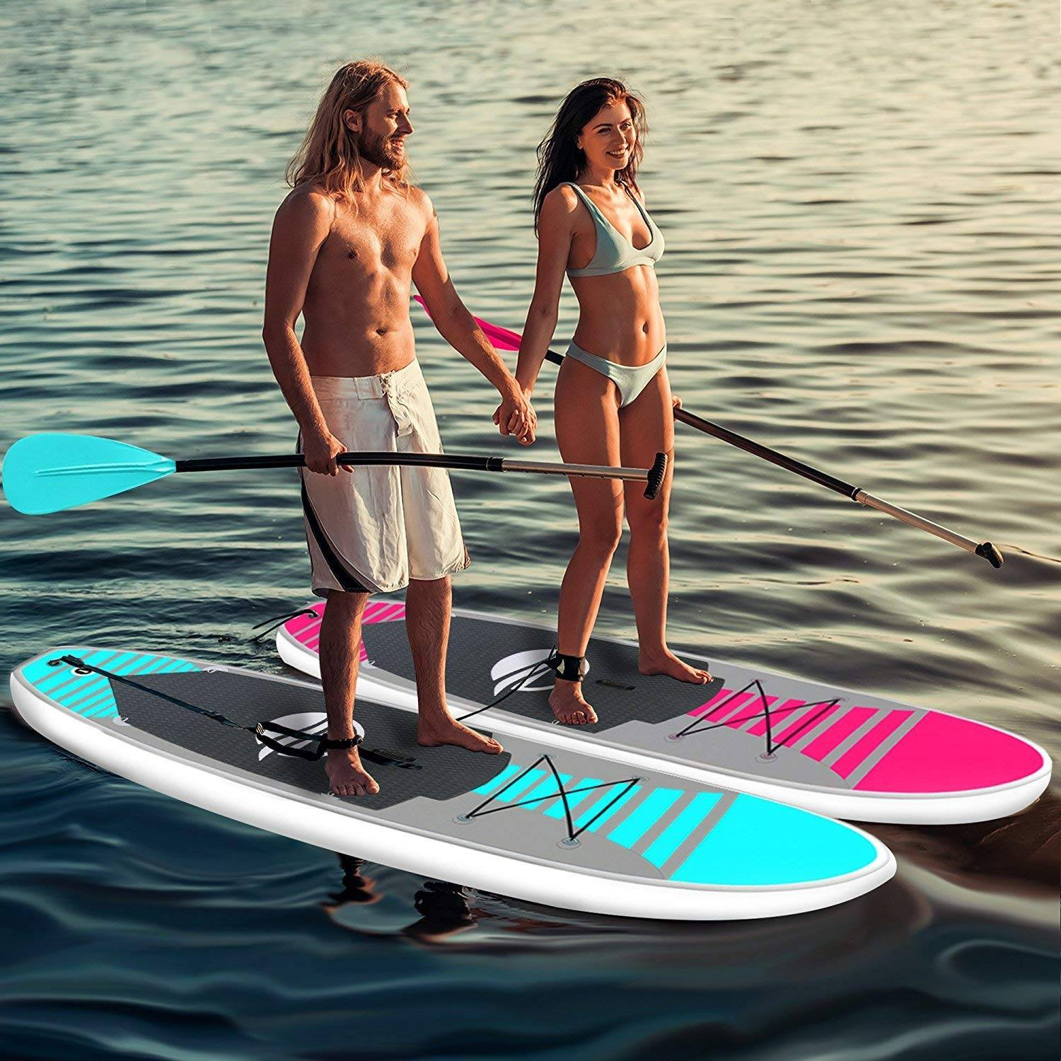 SereneLife Inflatable Stand-up Paddle Board Review
