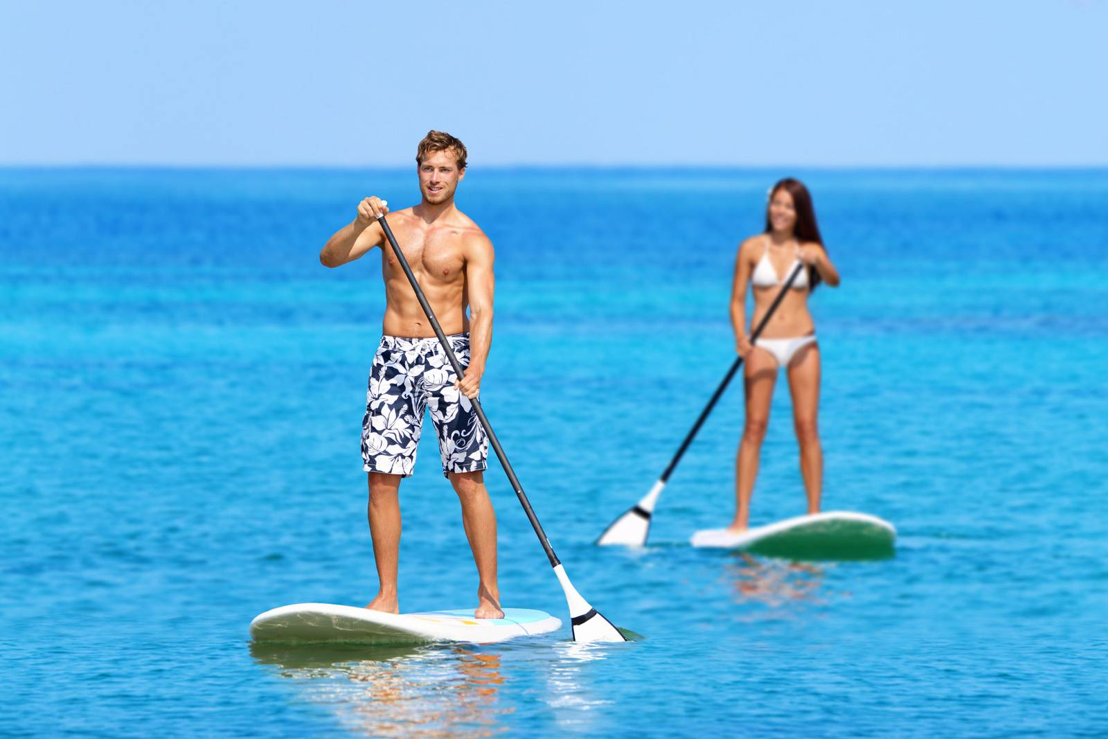 Stand up paddling influence to psychophysical health
