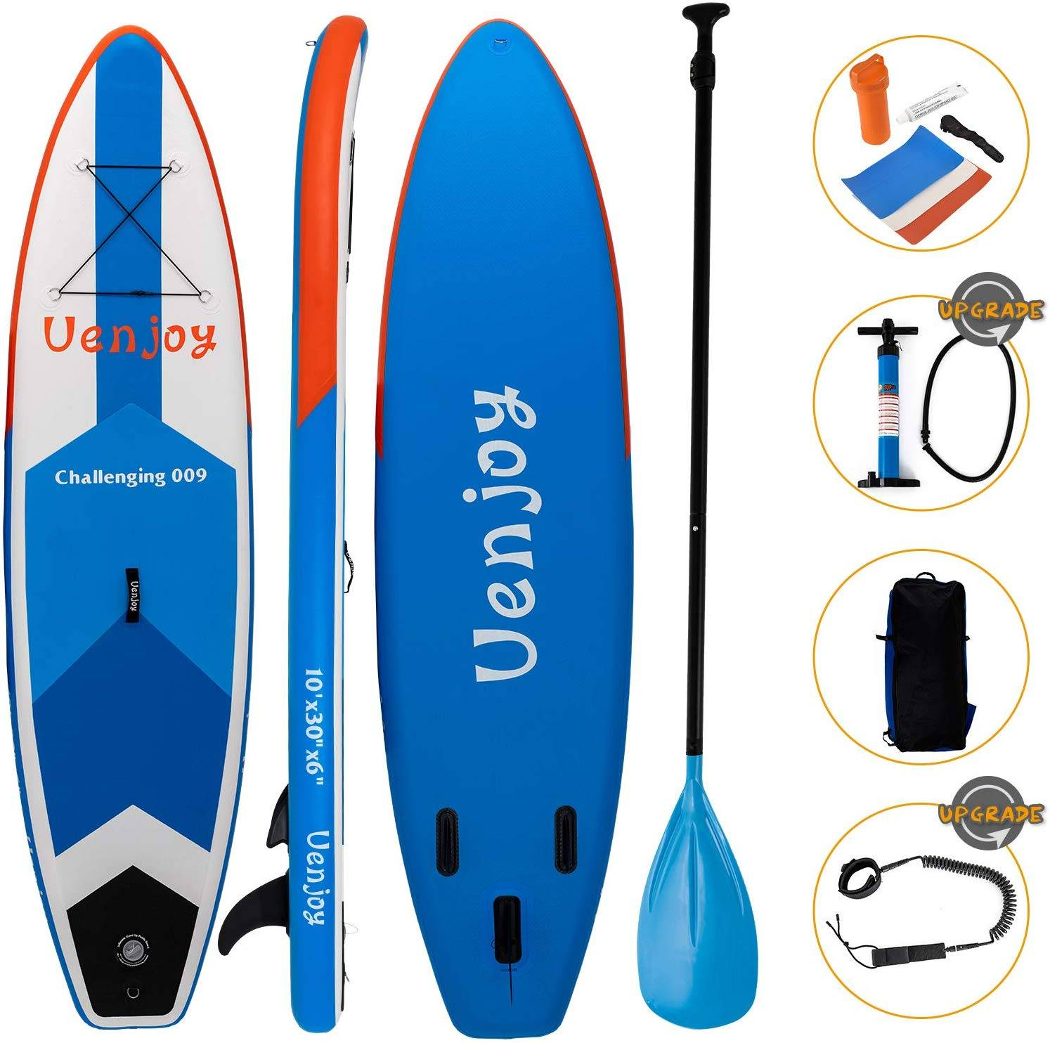 Uenjoy Inflatable Sup Around Paddle Board
