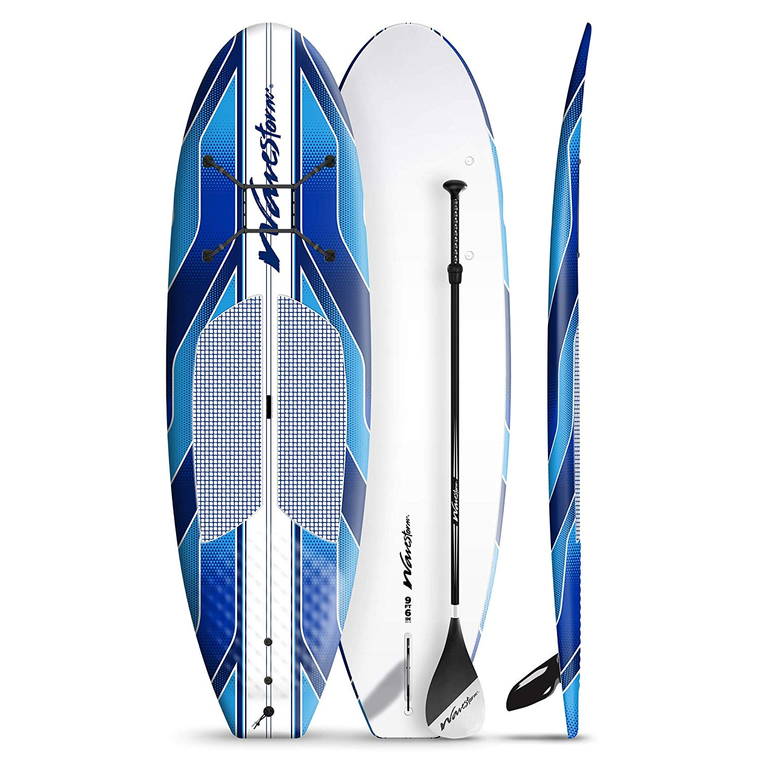 "Wavestorm 9' 6"" Expedition SUP Stand Up Paddle Board Bundle 2-Pack"