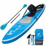 Xspec Inflatable Standup Paddle Board - image on https://supboardgear.com