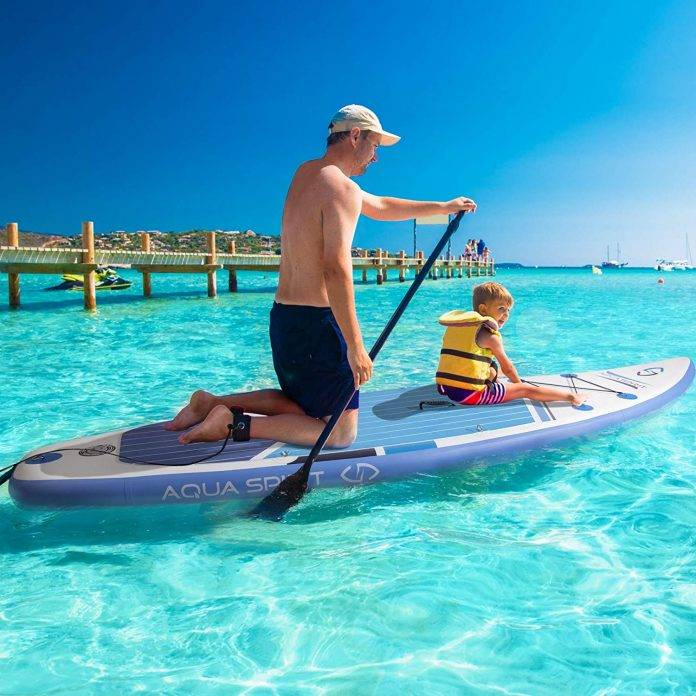 AQUA SPIRIT All Skill Levels Paddle Board