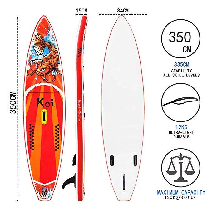 "FeatherLite 11'6"" Inflatable SUP Set"