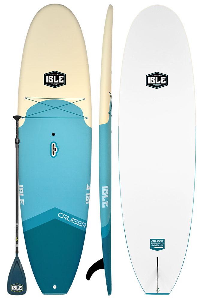 ISLE Cruiser Epoxy 10'5 Standup Paddle Board