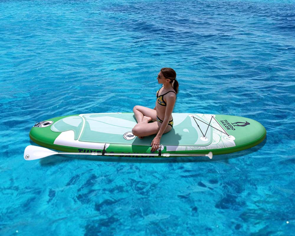 Inflatable 10×32×6 SUP with Carry Stripe System