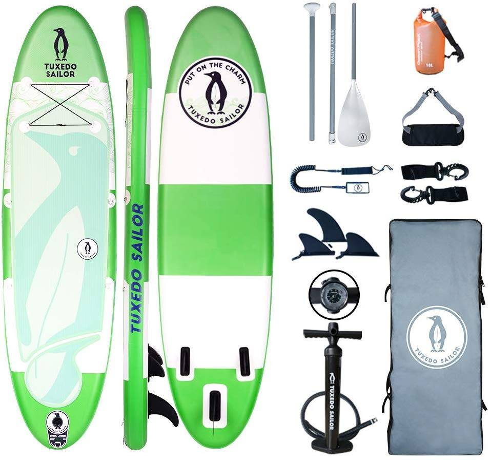 Inflatable SUP with Carry Stripe System