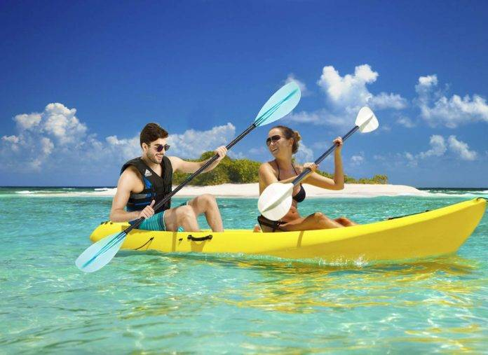 Leader Accessories Kayak Paddle Aluminum