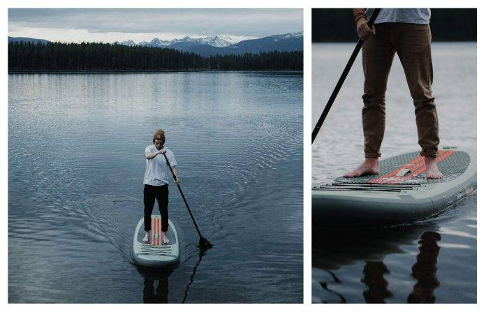 Retrospec Weekender 10' Inflatable Stand Up Paddleboard iSUP
