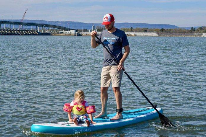SOOPOTAY Inflatable SUP Stand Up Paddle Board