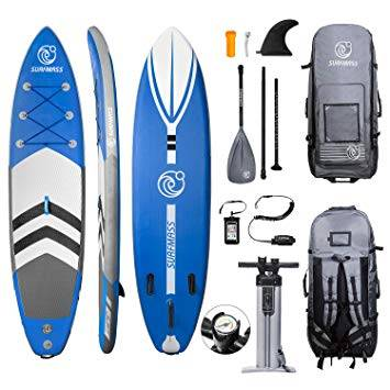 SURFMASS Inflatable SUP Stand Up Paddle Board