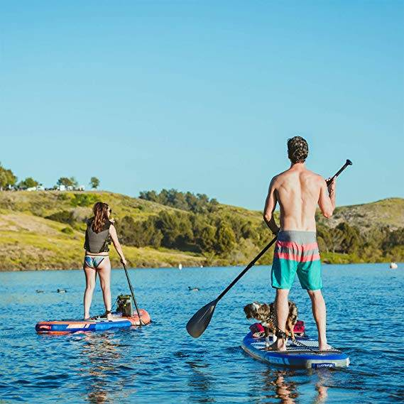 SURFMASS Inflatable SUP 11 L x 6 T x 32 W Stand Up Paddle Board