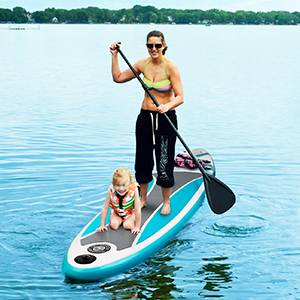 TUSY Stand Up Paddle Board – Excellent Paddleboard with extra safety features