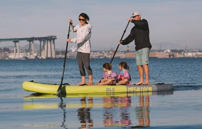 ISLE Megalodon Inflatable Paddle Board