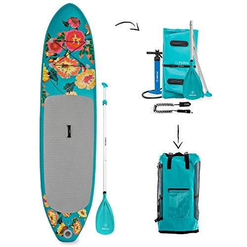 Supflex 10' Inflatable Stand Up Paddleboard Review