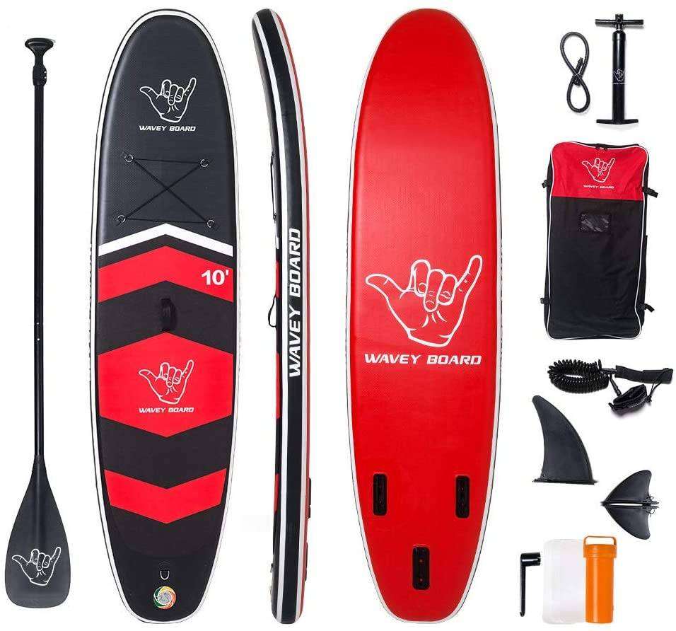 WAVEY SUP Inflatable Stand Up Paddle Board
