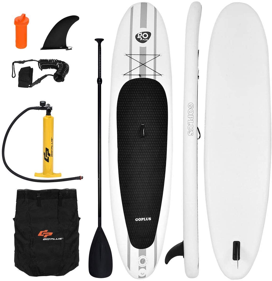 Goplus Inflatable Stand up Paddle Board Surfboard SUP Board