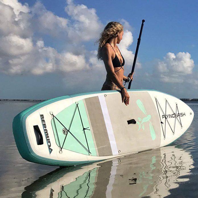 Flying Fish Bermuda Inflatable Stand Up Paddle Board SUP