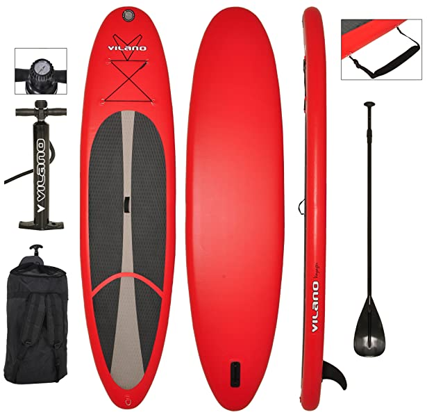 Features Vilano Voyager Inflatable SUP