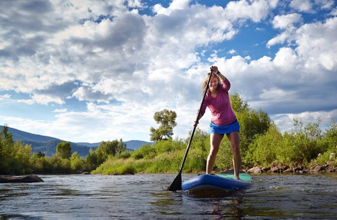 Kesser Inflatable SUP Board Set Stand Up Paddle Board