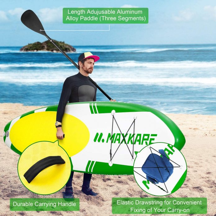 MaxKare Inflatable Paddle Board SUP