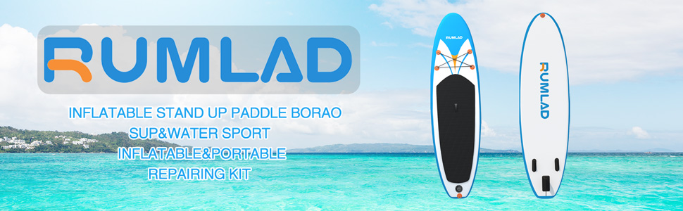 Rumlad Inflatable Stand Up Paddle Board Top
