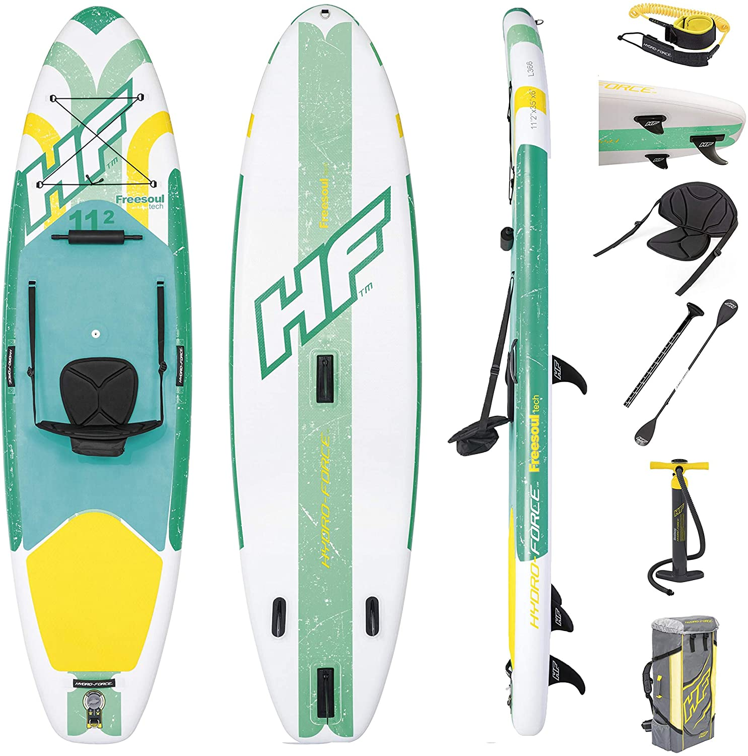 Bestway Hydro-Force Freesoul Tech Inflatable SUP