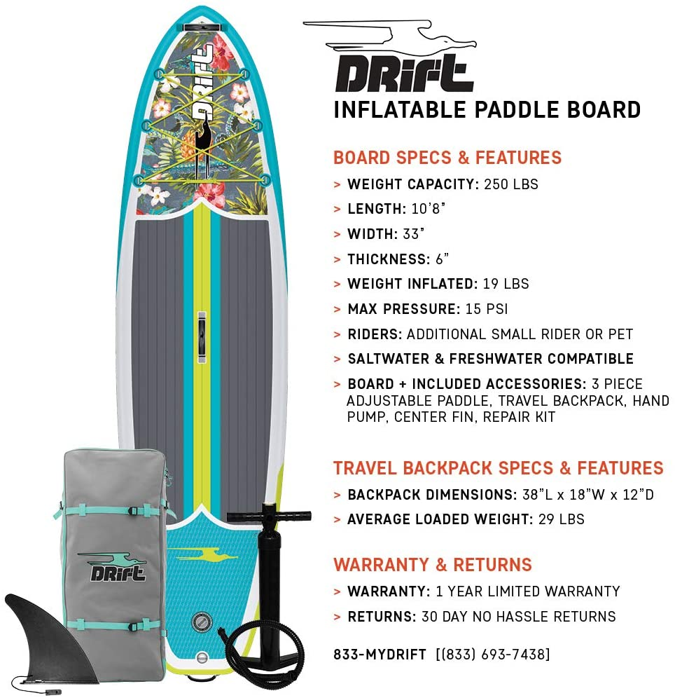 DRIFT Inflatable Stand Up Best